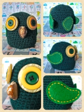 'Nugget' the Green Owl